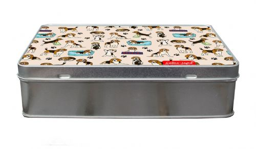 Selina-Jayne Beagles Limited Edition Designer Treat Tin